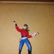 Figuras de Goma y PVC: FIGURA OESTE VAQUERO JECSAN PLÁSTICO PVC SOLDADO L . Lote 152470918