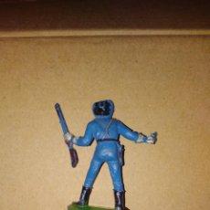 Figuras de Goma y PVC: FIGURA OESTE VAQUERO SOLDADO NORDISTA JECSAN PLÁSTICO PVC SOLDADO L . Lote 152471174