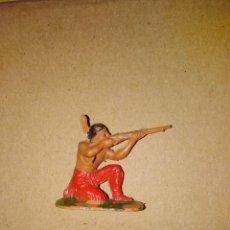 Figuras de Goma y PVC: FIGURA OESTE FART WEST INDIO JECSAN PLÁSTICO PVC SOLDADO L . Lote 152471522