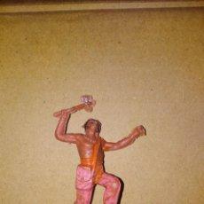 Figuras de Goma y PVC: FIGURA OESTE FART WEST INDIO JECSAN PLÁSTICO PVC SOLDADO L . Lote 152471638