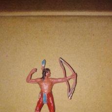 Figuras de Goma y PVC: FIGURA OESTE FART WEST INDIO JECSAN PLÁSTICO PVC SOLDADO L . Lote 152471702