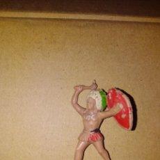 Figuras de Goma y PVC: FIGURA OESTE FART WEST INDIO JECSAN PLÁSTICO PVC SOLDADO REAMSA. Lote 152472266