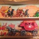 Figuras de Goma y PVC: COMANSI COW BOYS KANSAS. Lote 152710370