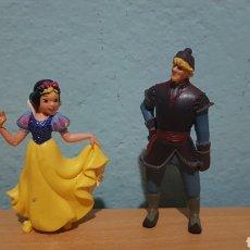 Figuras de Goma y PVC: BLANCANIEVES BULLY AÑOS 80-90 LOTE 2 FIGURAS.DISNEY.. Lote 152749602