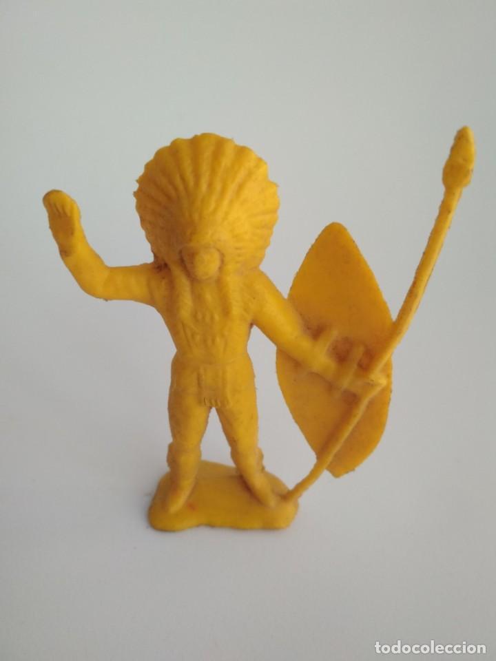 FIGURA INDIO 65MM (Juguetes - Figuras de Goma y Pvc - Pipero)