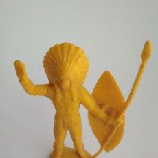 Figuras de Goma y PVC: FIGURA INDIO 65MM. Lote 152783258