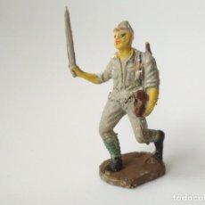 Figuras de Goma y PVC: FIGURA JAPONÉS SOLDADO TRANSFORMADO. Lote 153045474