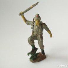 Figuras de Goma y PVC: FIGURA TRANSFORMADA SOLDADO JAPONÉS . Lote 153046086