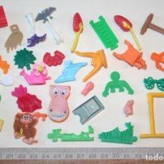 Figuras Kinder: LOTE 4 --) 30 PIEZAS (KINDER, FERRERO, ...) *** FIGURAS PLÁSTICO / PVC *** TENGO MÁS LOTES. Lote 153106358