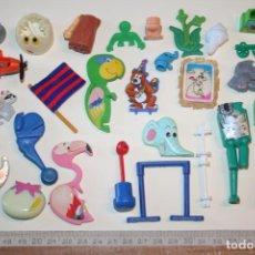 Figuras Kinder: LOTE 5 --) 30 PIEZAS (KINDER, FERRERO, ...) *** FIGURAS PLÁSTICO / PVC *** TENGO MÁS LOTES. Lote 153106526