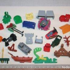 Figuras Kinder: LOTE 6 --) 30 PIEZAS (KINDER, FERRERO, ...) *** FIGURAS PLÁSTICO / PVC *** TENGO MÁS LOTES. Lote 153106806