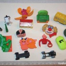 Figuras Kinder: LOTE 7 --) 15 PIEZAS (KINDER, FERRERO, ...) *** FIGURAS PLÁSTICO / PVC *** TENGO MÁS LOTES. Lote 153107098