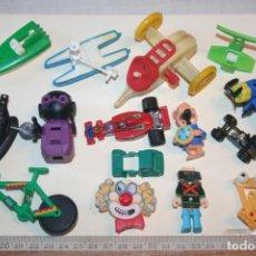 Figuras Kinder: LOTE 8 --) 15 PIEZAS (KINDER, FERRERO, ...) *** FIGURAS PLÁSTICO / PVC *** TENGO MÁS LOTES. Lote 153107178
