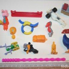 Figuras Kinder: LOTE 10 --) 15 PIEZAS (KINDER, FERRERO, ...) *** FIGURAS PLÁSTICO / PVC *** TENGO MÁS LOTES. Lote 153109906