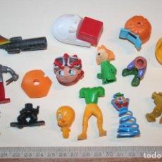 Figuras Kinder: LOTE 11 --) 15 PIEZAS (KINDER, FERRERO, ...) *** FIGURAS PLÁSTICO / PVC *** TENGO MÁS LOTES. Lote 153110006