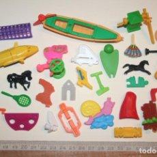 Figuras Kinder: LOTE 14 --) 30 PIEZAS (KINDER, FERRERO, ...) *** FIGURAS PLÁSTICO / PVC *** TENGO MÁS LOTES. Lote 153110910