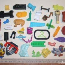Figuras Kinder: LOTE 15 --) 40 PIEZAS (KINDER, FERRERO, ...) *** FIGURAS PLÁSTICO / PVC *** TENGO MÁS LOTES. Lote 153123058