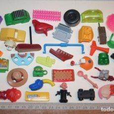Figuras Kinder: LOTE 16 --) 40 PIEZAS (KINDER, FERRERO, ...) *** FIGURAS PLÁSTICO / PVC *** TENGO MÁS LOTES. Lote 153123158