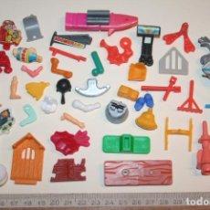 Figuras Kinder: LOTE 17 --) 40 PIEZAS (KINDER, FERRERO, ...) *** FIGURAS PLÁSTICO / PVC *** TENGO MÁS LOTES. Lote 153123622