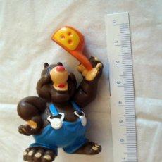 Figuras de Goma y PVC: JUGUETE, MUÑECO, FIGURA GOMA O PVC, EL TOPO HENK, SCHLEICH, J. KWAK HVSB 1990. Lote 153128946