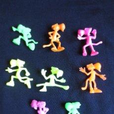 Figuras de Goma y PVC: 8 FIGURAS DIFERENTES DE CHESTER CHEETOS- DUNKIN MATUTANO. Lote 153195402