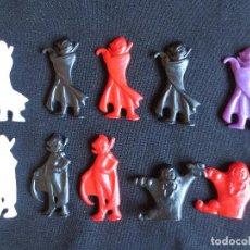 Figuras de Goma y PVC: 10 FIGURAS DE LA PANDILLA DRAKIS- DUNKIN MATUTANO. Lote 153197014