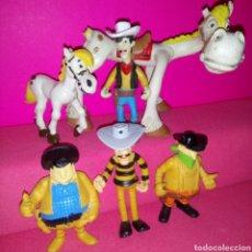 Figuras de Goma y PVC: LOTE LUCKY LUKE. Lote 153531073