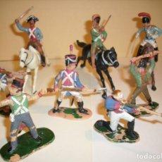 Figuras de Goma y PVC: VINTAGE. REAMSA Y JECSAN - SOLDADOS NAPOLEONICOS AUGUSTINA DE ARAGON INDIPENDENCIA A1. Lote 153597974
