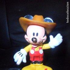 Figuras de Goma y PVC: MICKEY VAQUERO - FIGURA PVC - MARCA: DISNEY MATTEL 2012. Lote 153684338