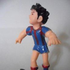 Figuras de Goma y PVC: OLIVER Y BENJI CAMPEONES F.C. BARCELONA FIGURA DE PVC TSUCHIDA YOLANDA. Lote 153751606