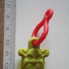 Figuras de Goma y PVC: SHRECK *** FIGURA BUSTO MUÑECO PIXAR *** JUGUETE GOMA *** . Lote 153842726