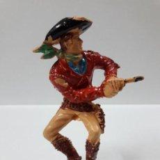 Figuras de Goma y PVC: VAQUERO - COWBOY . REALIZADO POR LAFREDO . SERIE GRANDE - AÑOS 60. Lote 153854694