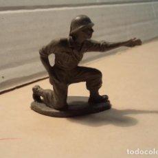 Figuras de Goma y PVC: FIGURA DE PLÁSTICO AMERICANOS EN COMBATE PECH. Lote 153868010