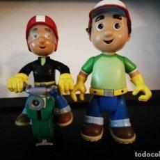 Figuras de Goma y PVC: PACK FIGURAS MANNY MANITAS. Lote 153940338