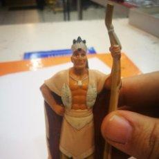 Figuras de Goma y PVC: APPLAUSE DISNEY POCAHONTAS POWHATAN. Lote 154016830