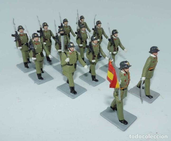 Figuras de Goma y PVC: SOLDIS DESFILES LA INFANTERIA ESPAÑOLA, REAMSA SIN CAJA, MUY BUEN ESTADO COMPLETOS. - Foto 2 - 154126238