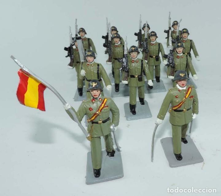 Figuras de Goma y PVC: SOLDIS DESFILES LA INFANTERIA ESPAÑOLA, REAMSA SIN CAJA, MUY BUEN ESTADO COMPLETOS. - Foto 3 - 154126238
