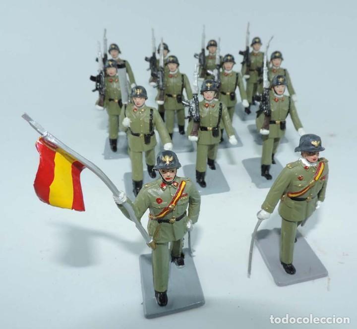 Figuras de Goma y PVC: SOLDIS DESFILES LA INFANTERIA ESPAÑOLA, REAMSA SIN CAJA, MUY BUEN ESTADO COMPLETOS. - Foto 5 - 154126238