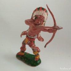 Figuras de Goma y PVC: FIGURA INDIO LAFREDO GRANDE. Lote 154148990