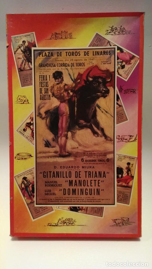 Figuras de Goma y PVC: PECH CAJA ORIGINAL COMPLETA CORRIDA DE TOROS años 60 (NO REAMSA JECSAN) - Foto 7 - 154150594