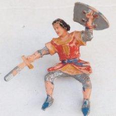 Figuras de Goma y PVC: CAPITAN TRUENO **** FIGURA DE GOMA ORIGINAL AÑOS 50/60 ESTEREOPLAST. Lote 154222478
