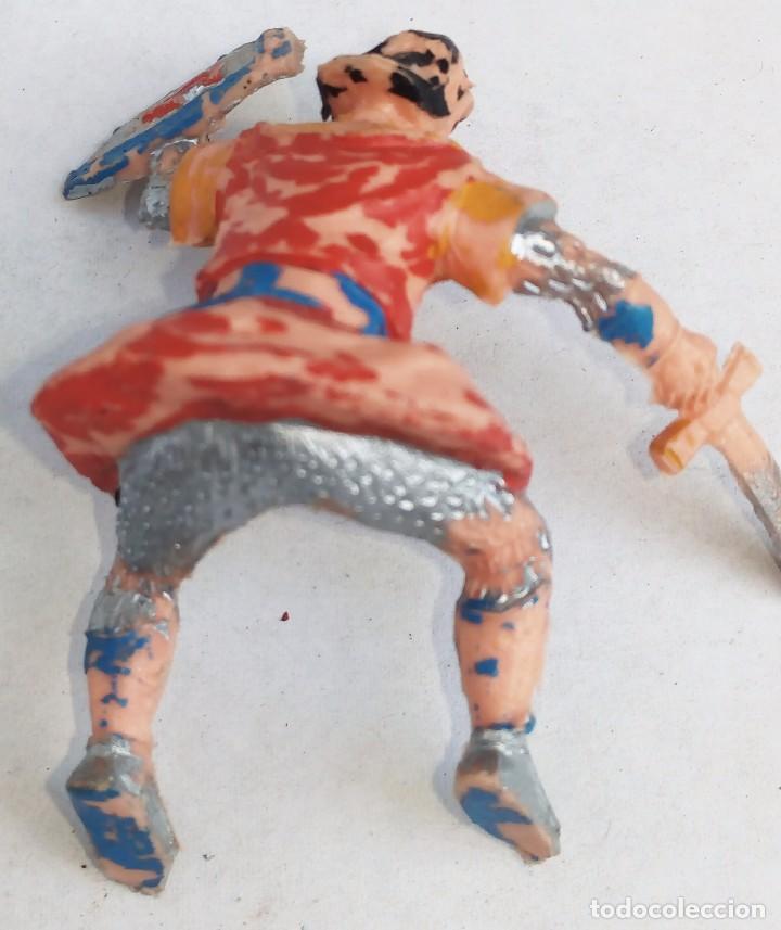 Figuras de Goma y PVC: CAPITAN TRUENO **** FIGURA DE GOMA ORIGINAL AÑOS 50/60 ESTEREOPLAST - Foto 2 - 154222478