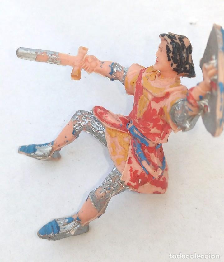Figuras de Goma y PVC: CAPITAN TRUENO **** FIGURA DE GOMA ORIGINAL AÑOS 50/60 ESTEREOPLAST - Foto 6 - 154222478