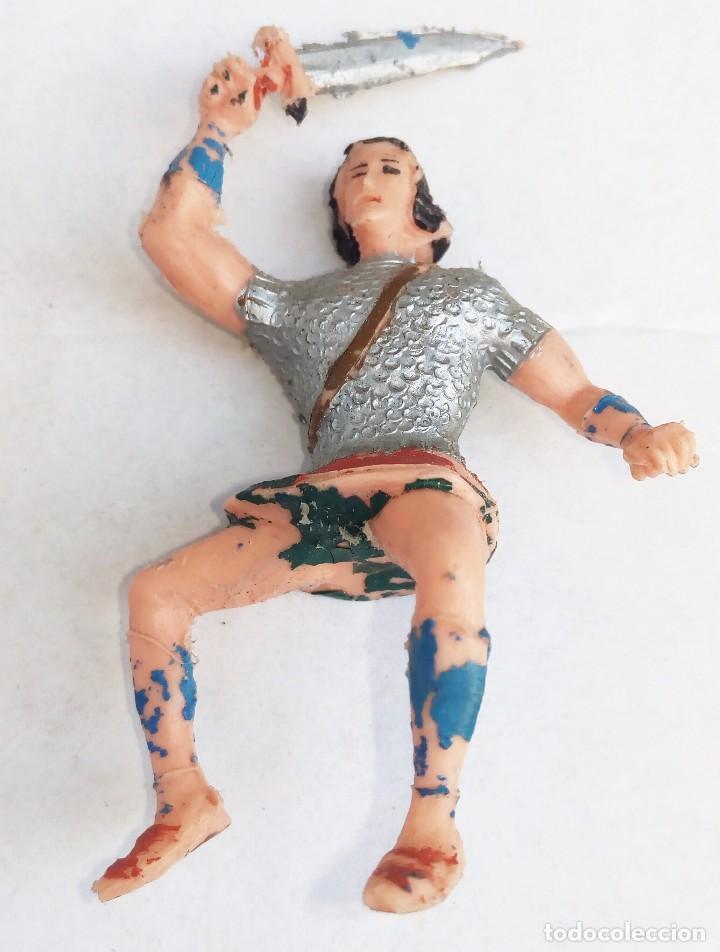 EL JABATO FIGURA ORIGINAL AÑOS 60 (Juguetes - Figuras de Goma y Pvc - Estereoplast)