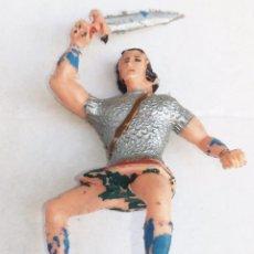 Figuras de Goma y PVC: EL JABATO FIGURA ORIGINAL AÑOS 60. Lote 154222862