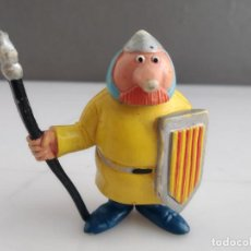 Figuras de Goma y PVC: FIGURA COMICS SPAIN MUY RARA LANCERO CATALAN TV3. Lote 154310886