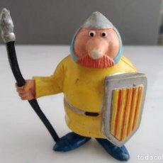 Figuras de Goma y PVC: FIGURA COMICS SPAIN MUY RARA LANCERO CATALAN TV3. Lote 154310966