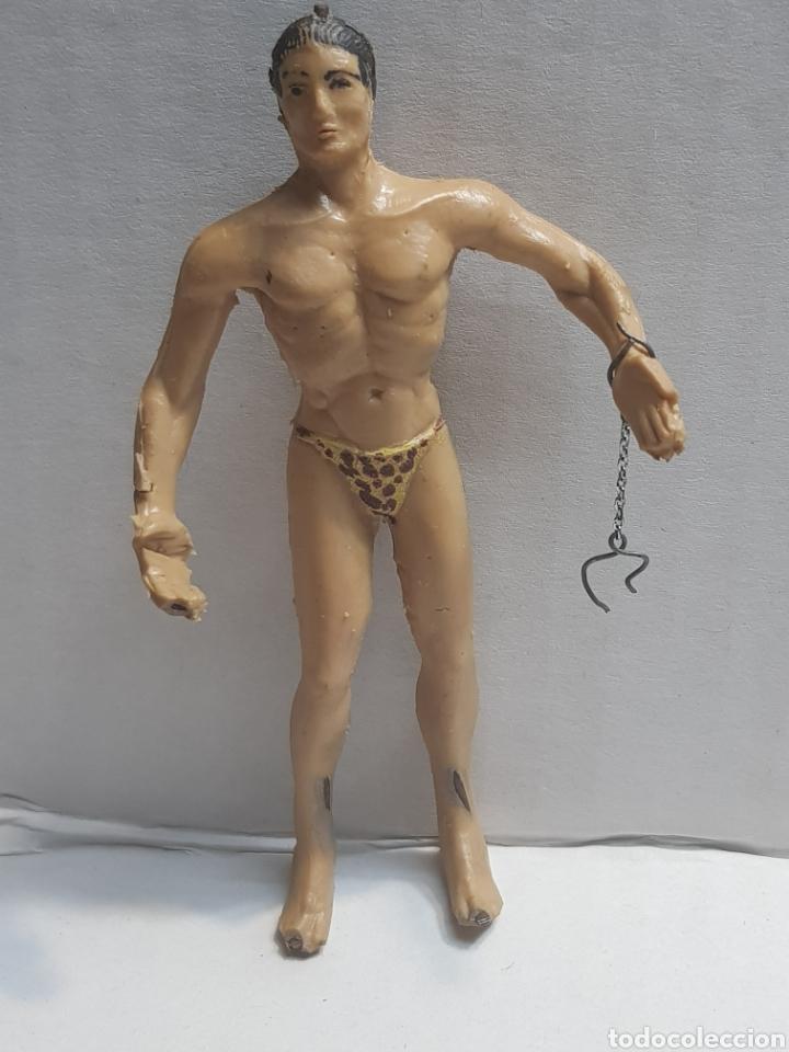 Figuras de Goma y PVC: Figura Tarzan de Arcla dificilísimo de encontrar - Foto 2 - 152222105