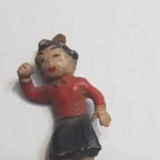 Figuras de Goma y PVC: FIGURA FAMILIA ULISES TEIXIDO MERCEDITAS MUY ESCASA. Lote 154336482
