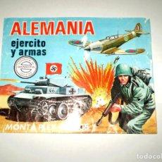 Figuras de Goma y PVC: MONTAPLEX - SOBRE VACÍO ALEMANIA Nº 3005 - EJERCITO Y ARMAS. Lote 154363914